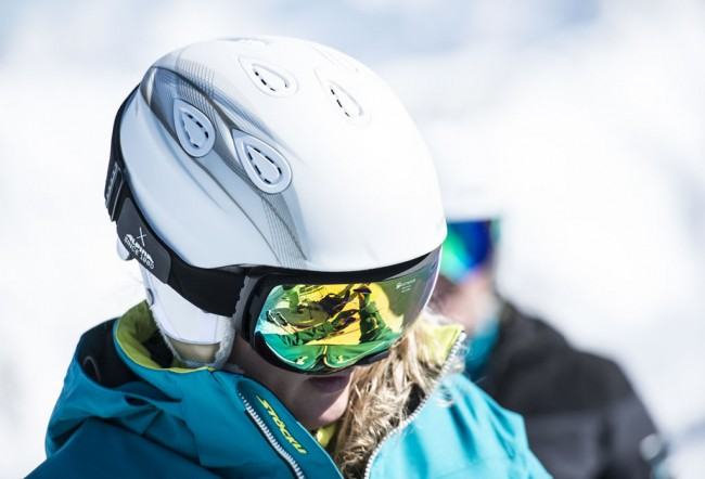 Skihelm © Stöckli Swiss Sports AG